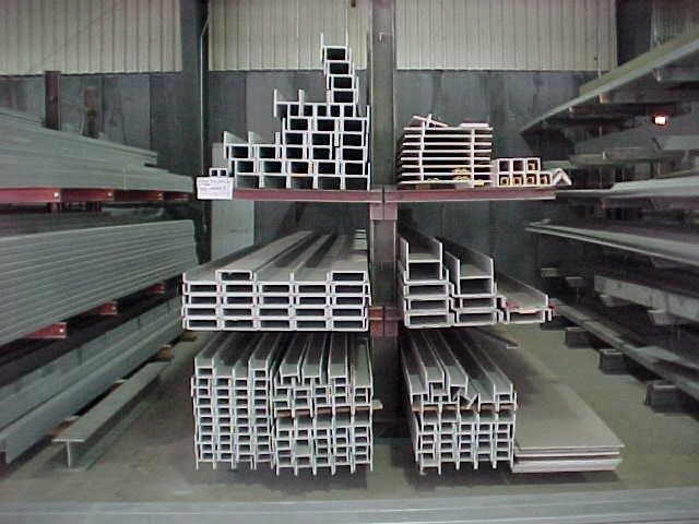 structural pultrusion inventory