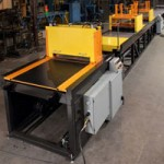A new pultrusion machine used to manufacture FRP pultruded products at Liberty Pultrusionsa