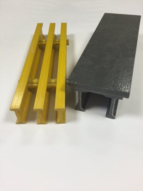 FRP Grating - Loose and Plate Top
