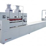 New pultrusion machine used to manufacture FRP pultruded products at Liberty Pultrusions