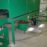 EPA MACT enclosure. Pultrusion equipment at Liberty Pultrusions manufacturing facility.