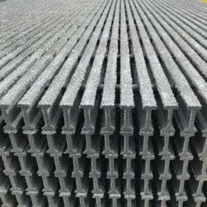 Pultruded fiberglass grating Liberty Pultrusions Manufacturing