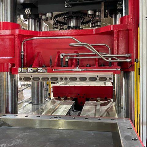 Large Compression Molding Press